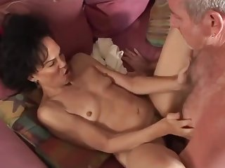 Hairy pussy mature deadly interracial action