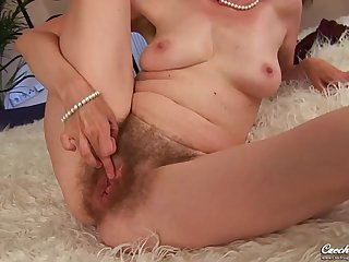 Evelyn  Czech Cougar - Hairy hard carnal knowledge