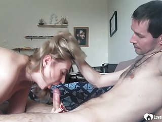 Dialectic blond stepmom loves sucks a get up to pole