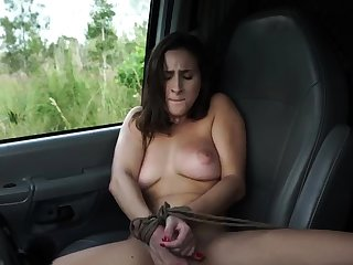 French crumpet bondage and huge dildo possession This new