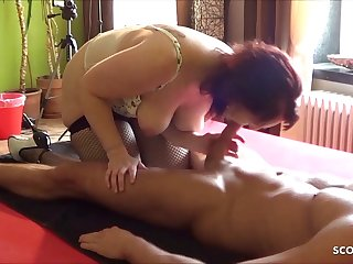 Dirty German Ugly Mother Fuck and Rimjob Young Step Son