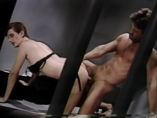 Super Dark-Tanned Bronzed Hairy Blackguardly Bush Sharon Mitchell - Club Exotica (Clip) (1986)