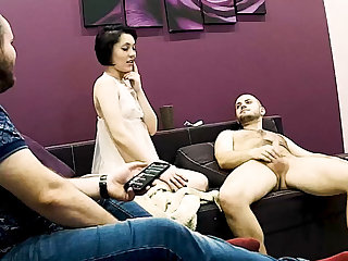 Stepmom Has Hard Copulation To the fullest Stepson is Watching on Hidden Cam