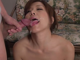 Sexy Wife Swallows Limitation Top Asian Blowjob