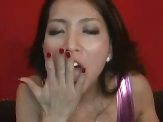 This Asian babe is a rare gem go off at a tangent looks great with a cum in her frowardness