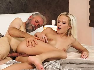 Old young creampie Surprise your girlplaymate added to she