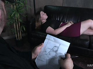 A psychiatrist turns out to be a bondage polished plus he loves big assed girls