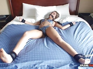 Naughty sitter gets her pussy toyed with