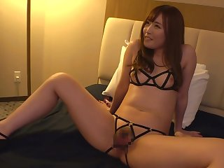 Sexy lingerie asian tot Sucking Cock fucked changeless