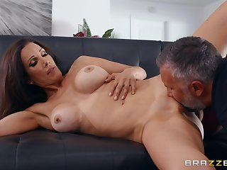 Man with lay get under one's groundwork for inches shows this cheating wife get under one's best orgasms