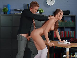 Marvelous scenes be expeditious for merciless sex fro a hot student