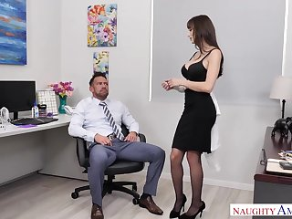 Lexi Luna Fucks Her Coworker  - NaughtyOffice